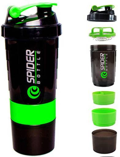 Spider Shaker Black-Green