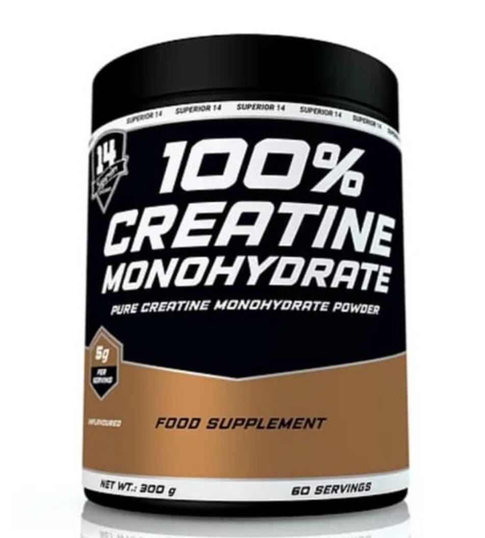 100% Creatine monohydrate Superior