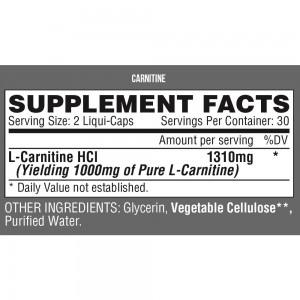 Nutrex Carnitine - 60 caps.