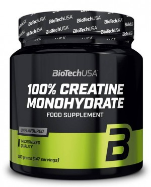 100% Creatine Monohydrate BioTech 500 g.
